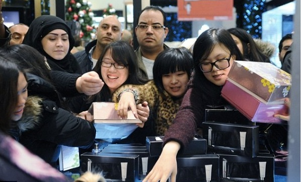 訪日外国人の買い物