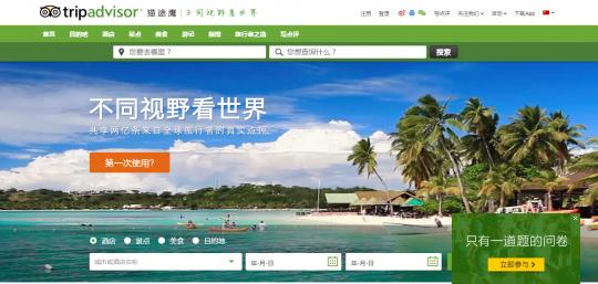 訪日中国人観光客利用サイト到到网
